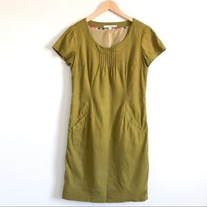 Boden Corduroy Shift Dress
